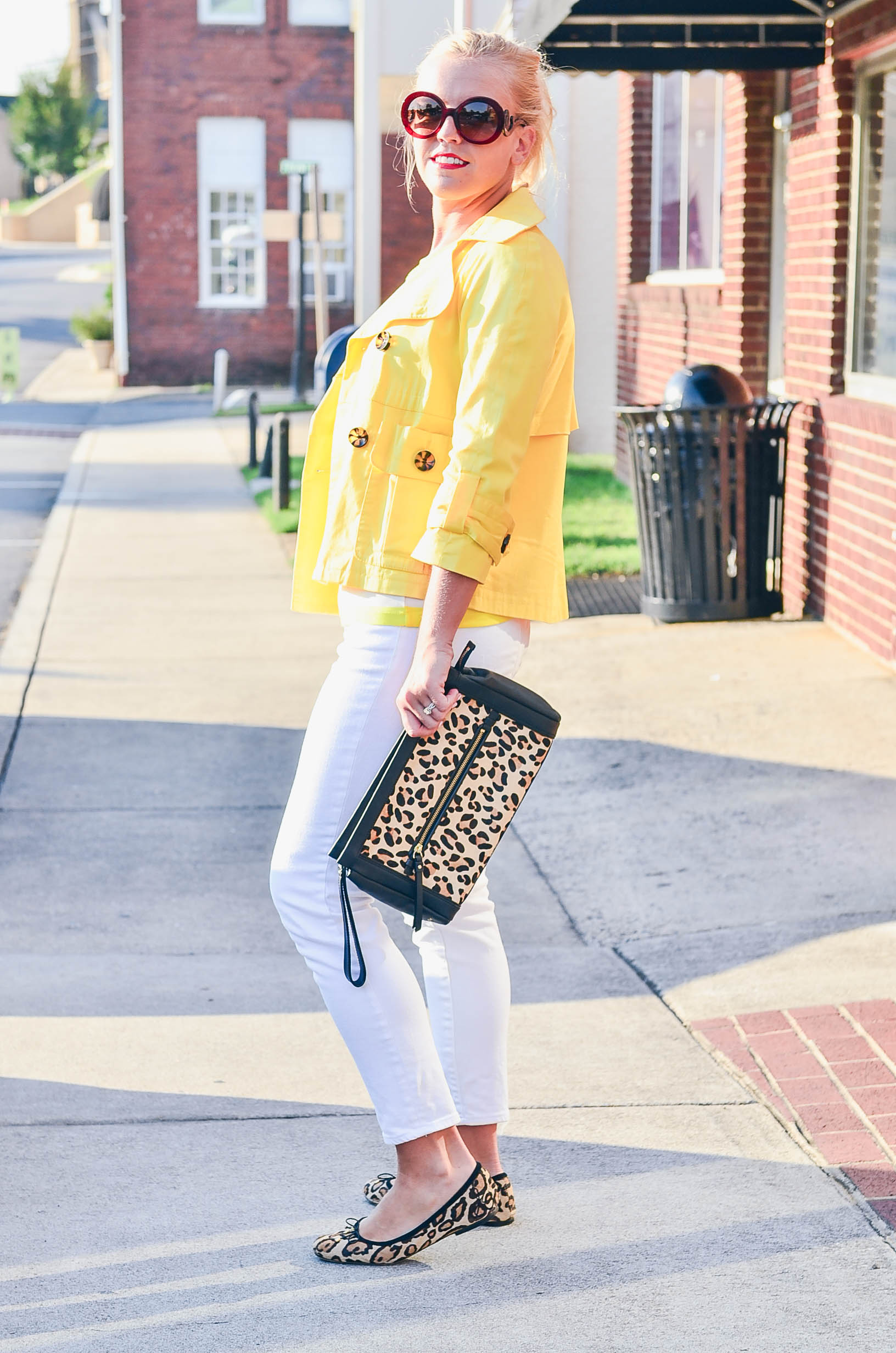 Yellow Stripes & Leopard Spots