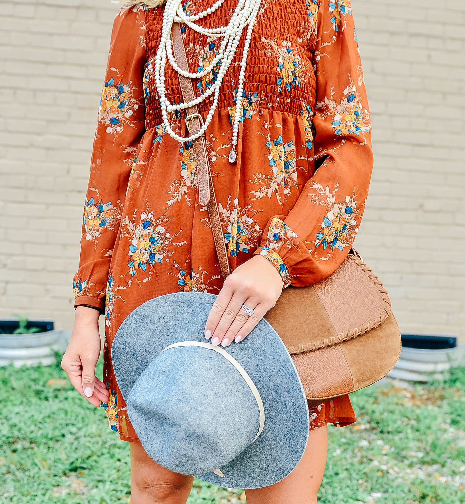 Fall Accessories Dress