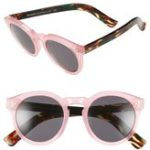 illesteva-leonard-ii-50mm-round-mirrored-sunglasses