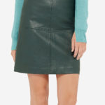 the Limited Faux Leather Mini Skirt