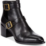 Nine West Evalee Buckle Bootie