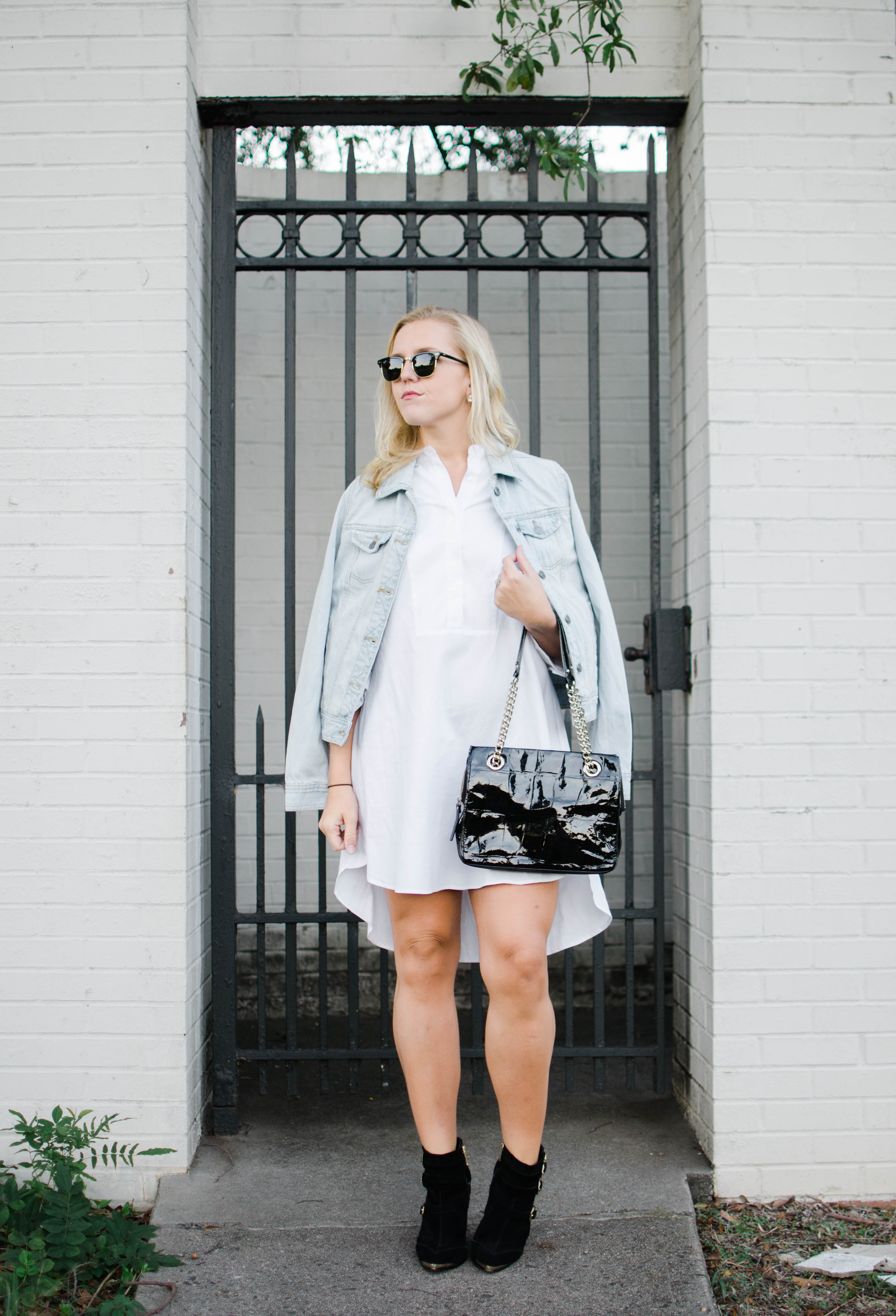 shirt-dress-jean-jacket