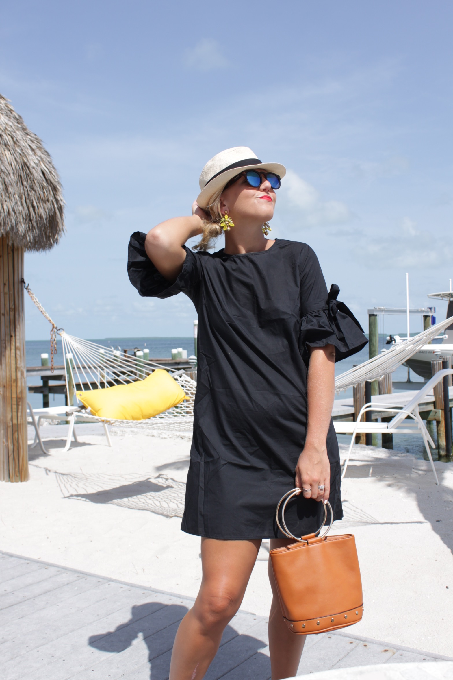 summer style little black dresss
